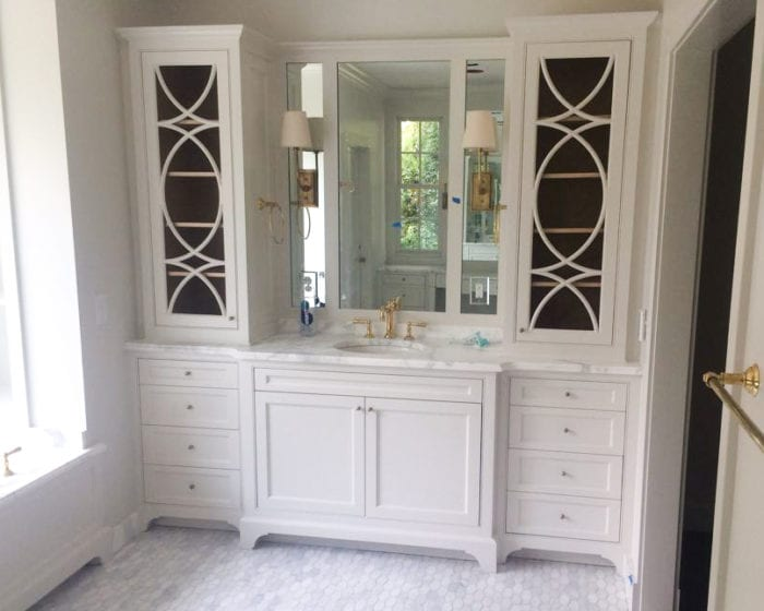 Timeless White Bathroom Vanity