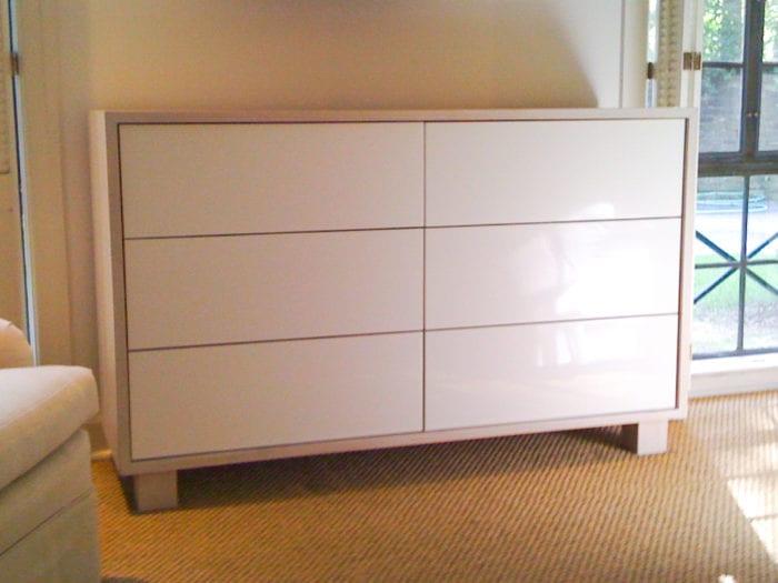 All White Dresser
