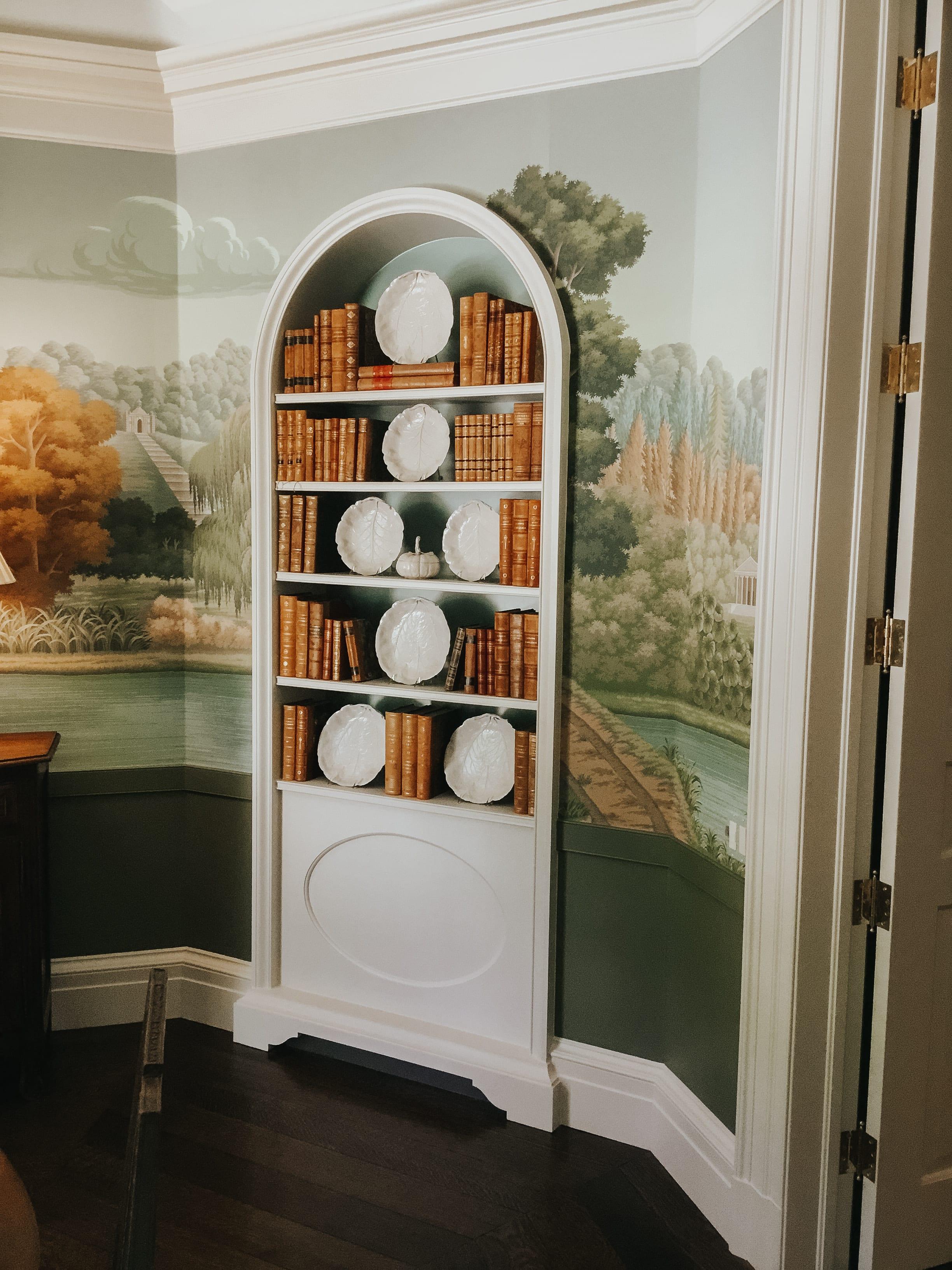 Radius Top Bookcase