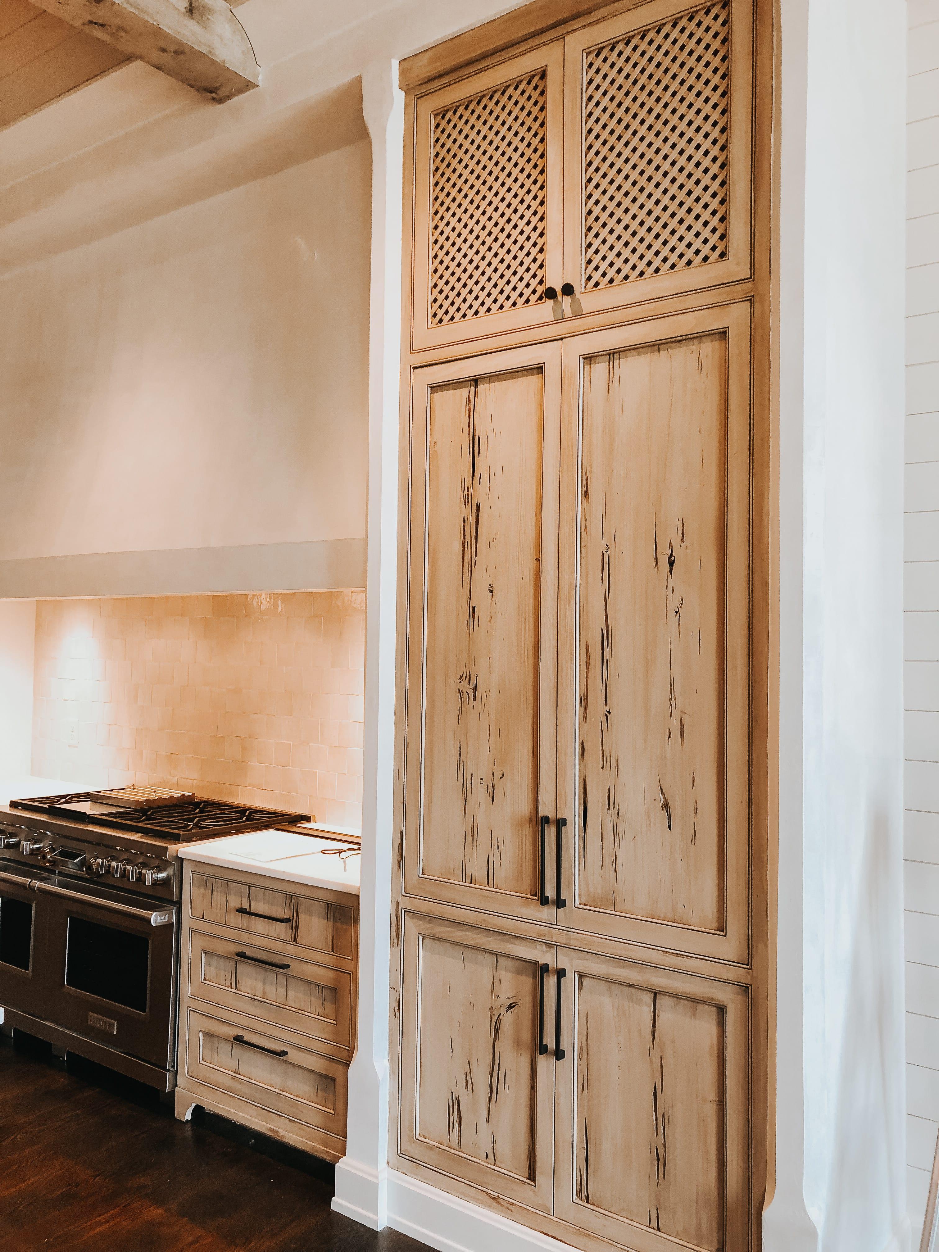 Cypress and Oak Pecky Kitchen