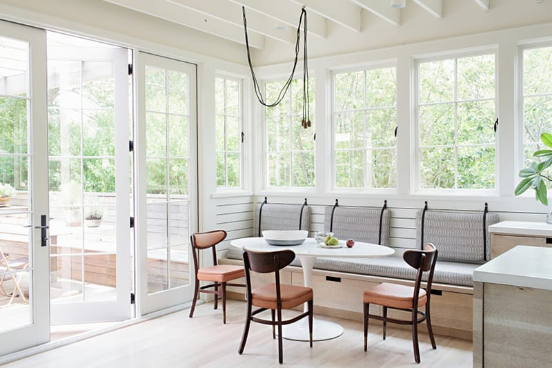 Airy White Open Kitchen