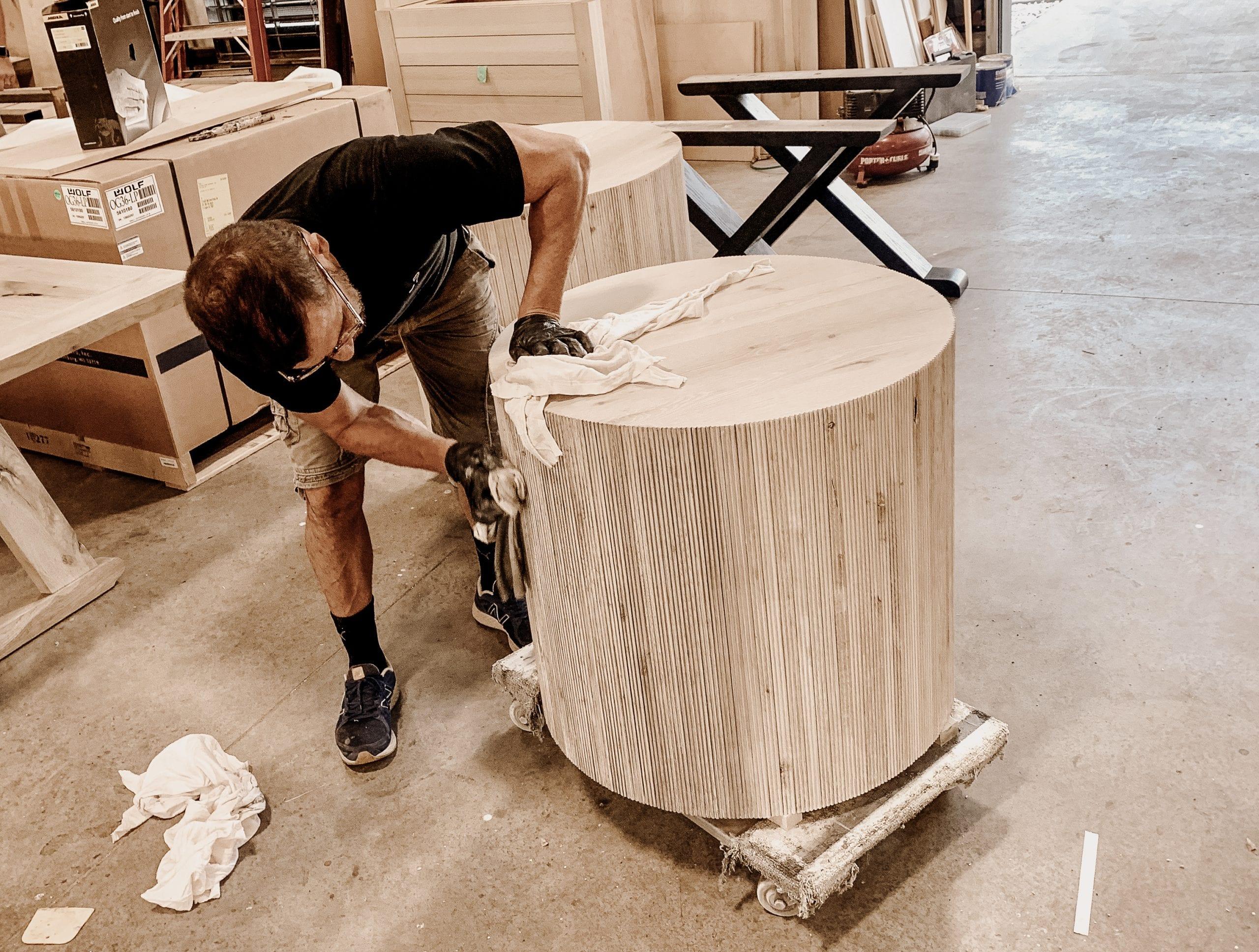 At MDM Design Studio we handcraft every piece