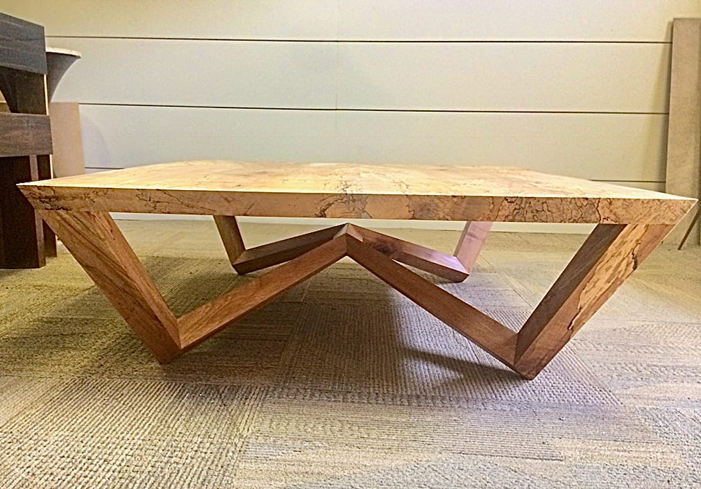 Angular Coffee Table from side