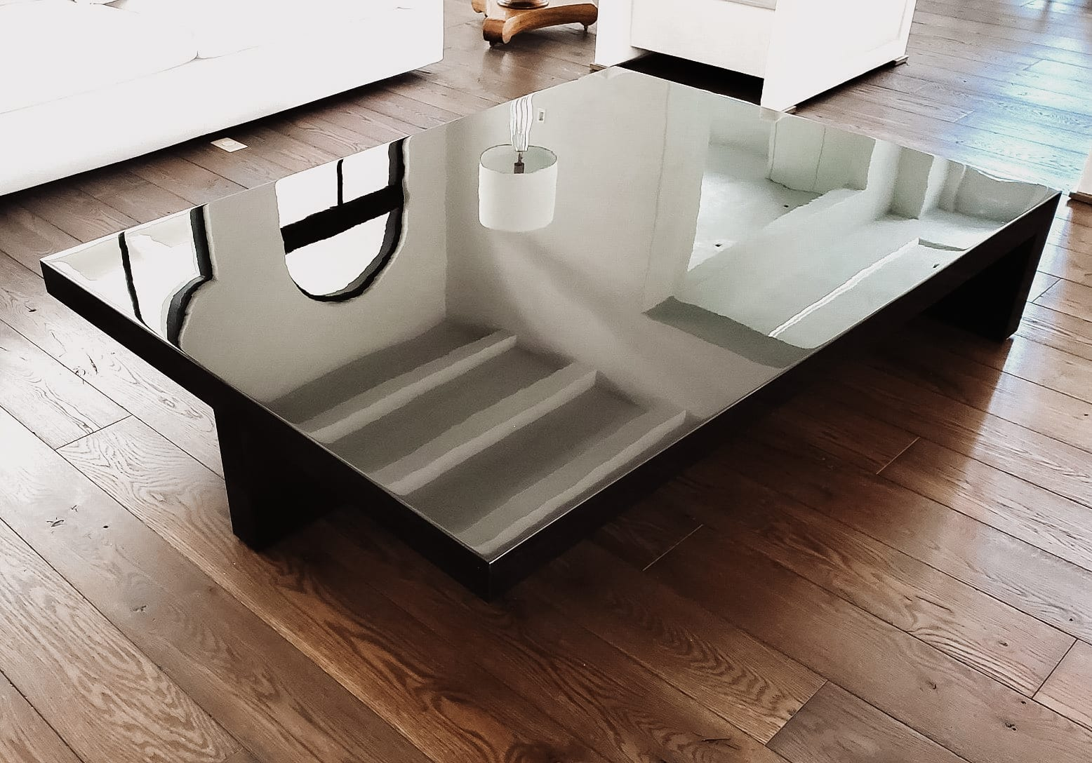 Slick and Shiny Coffee Table in Home