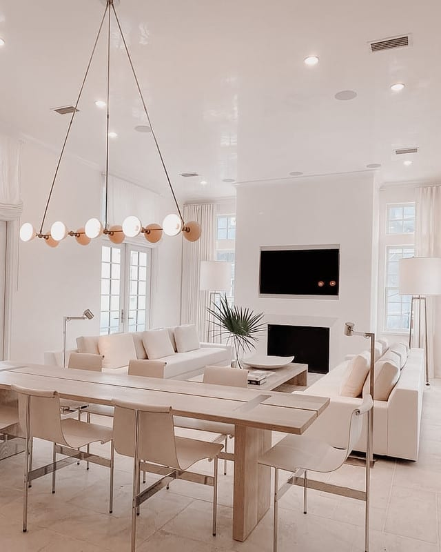 Dining Table in Alys Beach Home