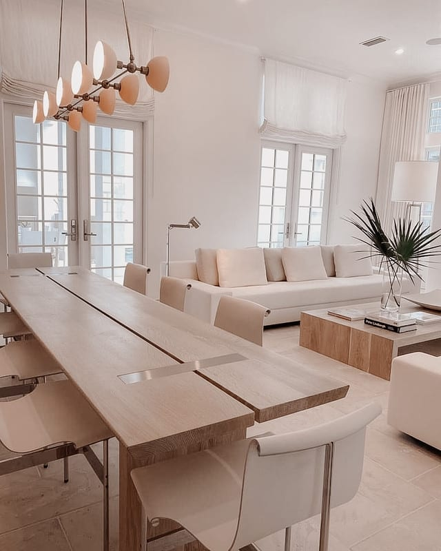 Alys Beach Room with Dining Table