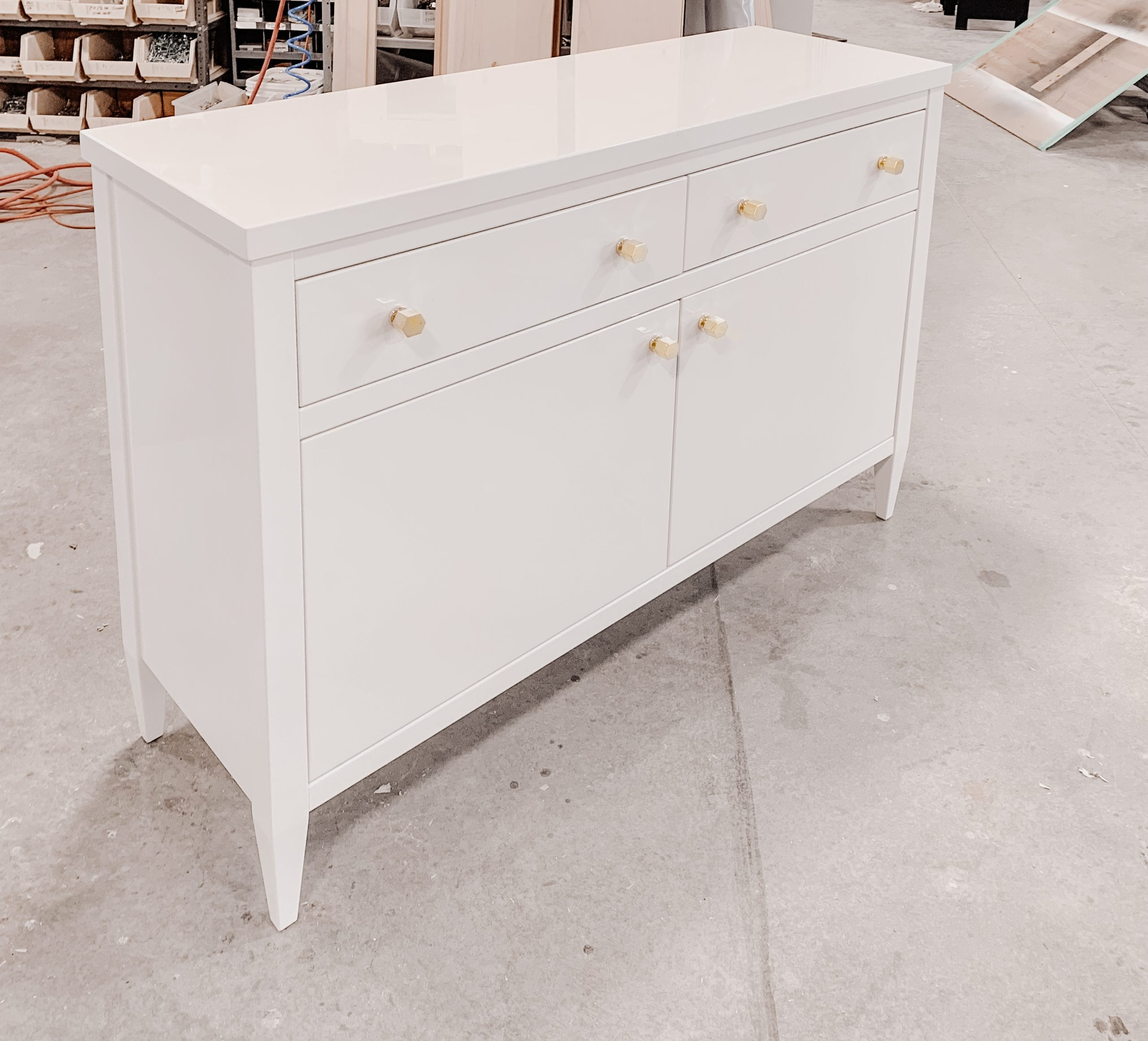 Polished Lacquer Bedroom Chest