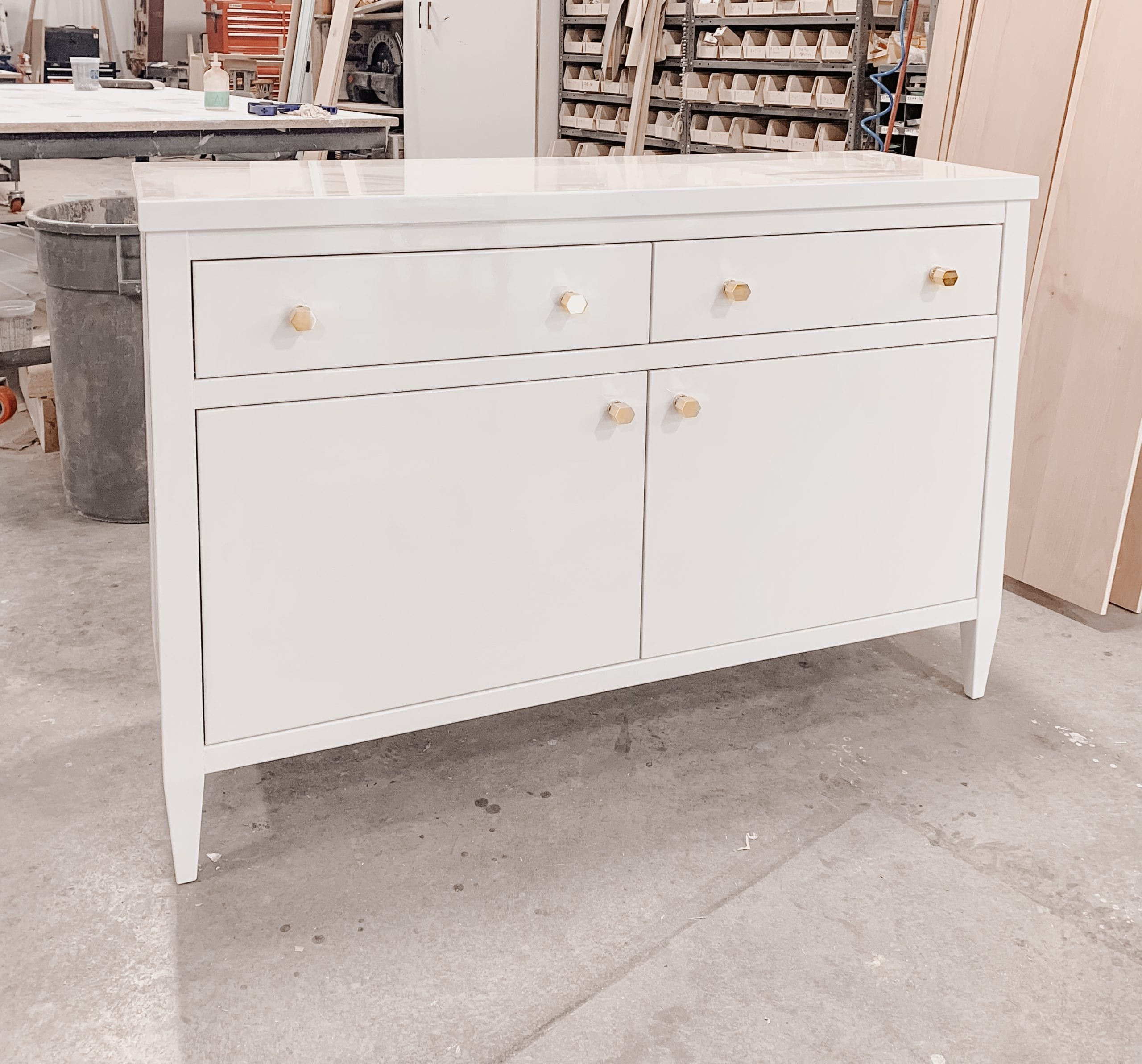 Polished Lacquer Dresser