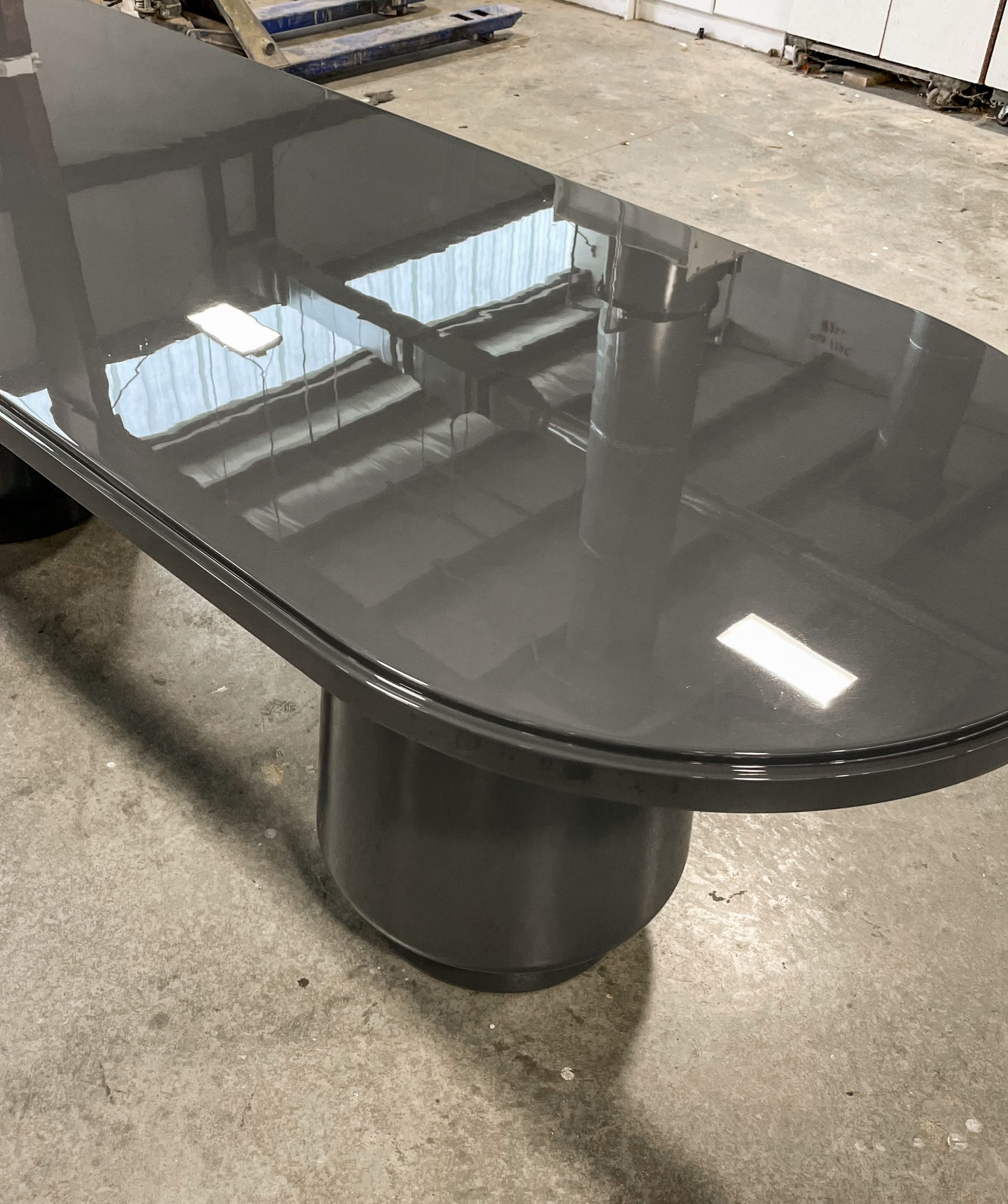 High Gloss Oblong Dining Table
